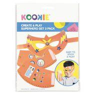 Kookie Create and Play Superhero Set 3 Pack