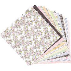 Rosie's Studio Arabesque Designer Papers Pad 42 Sheet 12in x 12in