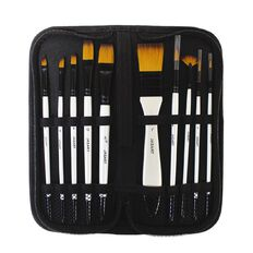 Jasart Brush Wallet Set 10 Piece