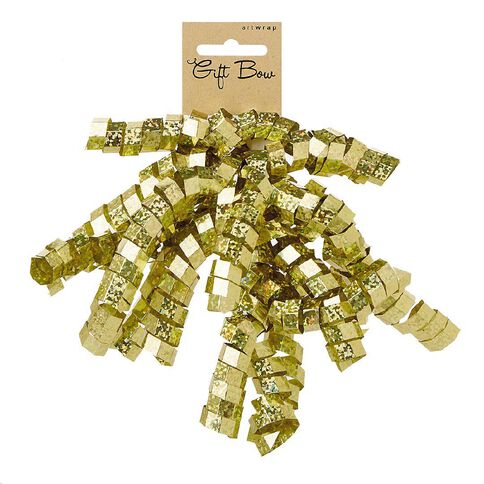 Artwrap Holographic Crinkle Bow Gold