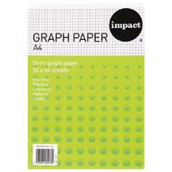 Impact Graph Pad Co22Y 5mm White A4