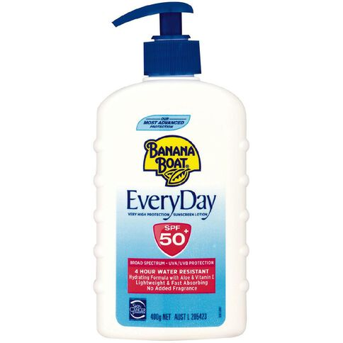 Banana Boat Everyday Pump SPF50+