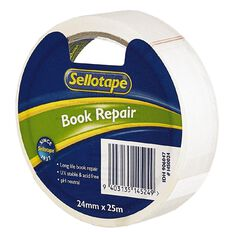 Sellotape Book Repair Tape Clear 25mm x 25m
