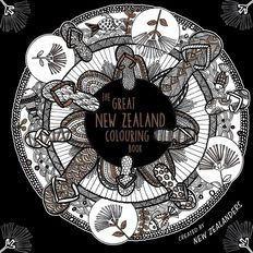 The Great New Zealand Colouring Book