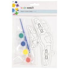 Kookie Paint Your Own Eva Plane