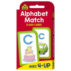 Hinkler School Zone Alphabet Match Flash Cards