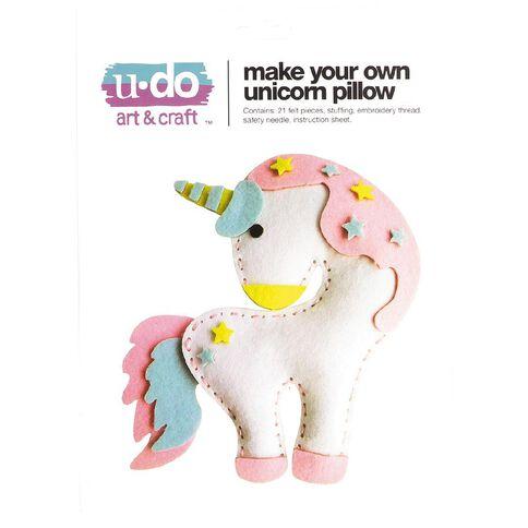 U-Do Make Your Own Unicorn Pillow