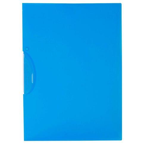 WS Swing Clip File Blue A4