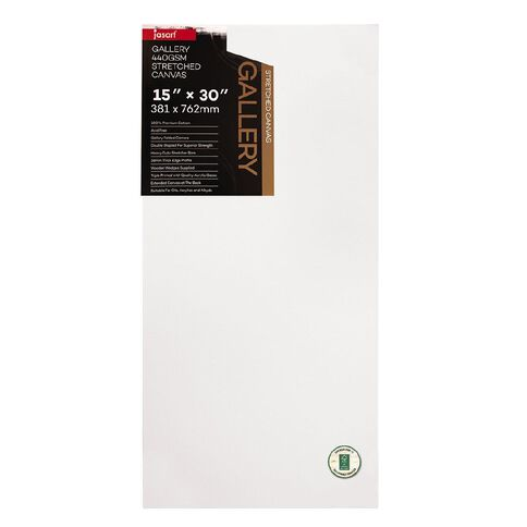 Jasart Gallery 1.5 inch Thick Edge Canvas 15x30 inches FSC MIX