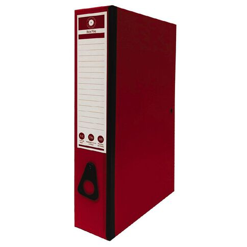 Office Supply Co F/C Box Files Red