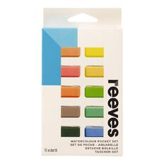 Reeves Watercolour Pocket Set Multi-Coloured
