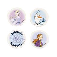 Frozen Disney Erasers 4 Pack Multi-Coloured