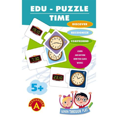 Alexander Games Edu-Puzzle Time