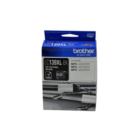 Brother Ink LC139XL Black (2400 Pages)