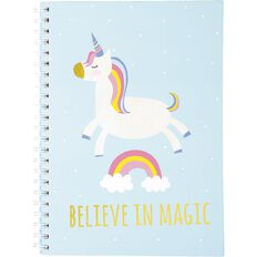 Kookie Unicorn Notebook A4