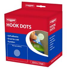 Holdfast Fastgrip Hooks 22mm 120 Pack White