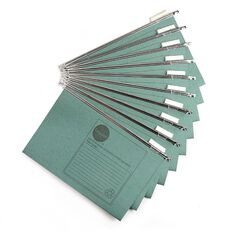 WS Suspension Files 10 Pack Green