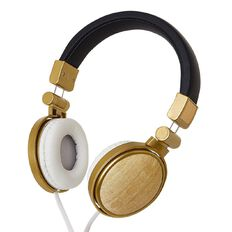 New Craft Headphones Wood Grain