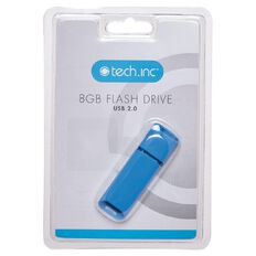 Tech.Inc 8GB USB Flash Drive Blue