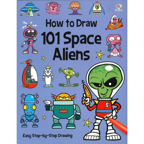 How to Draw 101 Space Aliens