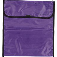 Impact Book Bag Zipper Pocket 36cm x 33cm Purple