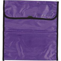 Impact Book Bag Zipper Pocket 36cm x 33cm Purple