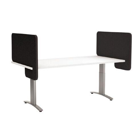 Boyd Visuals Desk Divider Black 540mm x 800mm