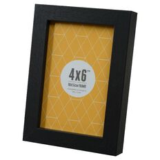 Promenade 4 x 6 Photo Frame Black