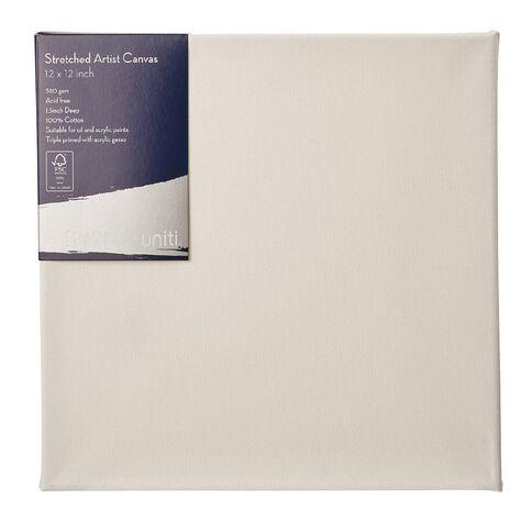 Uniti Platinum Canvas 12x12 Inches 380Gsm