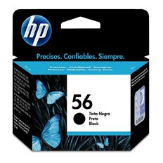 HP Ink Cartridge 56 Black (520 Pages)
