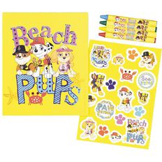 Paw Patrol Clipboard Colouring Kit