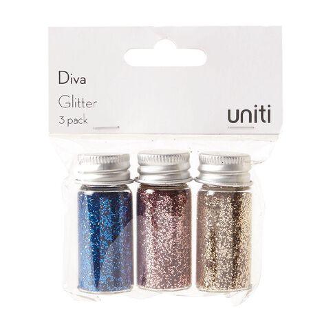 Uniti Diva Glitter 3 Pack