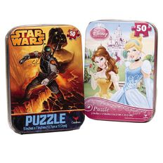 Mini Rectangular Puzzle in Tin Assorted