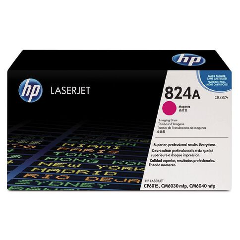 HP 824A Magenta Original LaserJet Imaging Drum (23000 Pages)