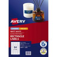 Avery Laser Labels L7656-25 Pack 25