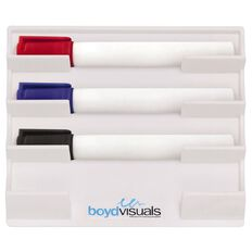 Boyd Visuals Magnetic Pen Holder White