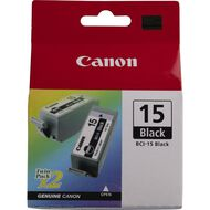 Canon Ink BCI15 Black 2 Pack