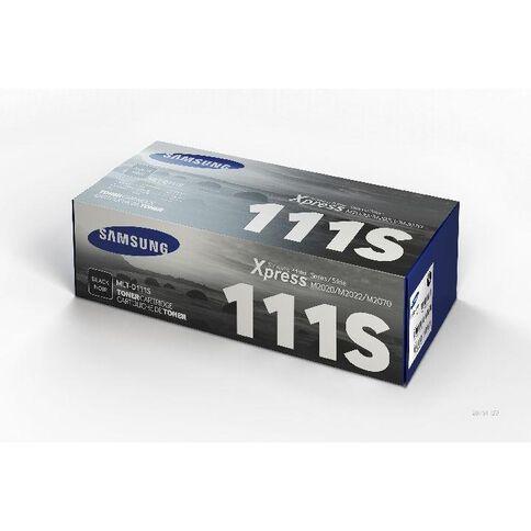 Samsung Toner MLTD111S Black (1000 Pages)