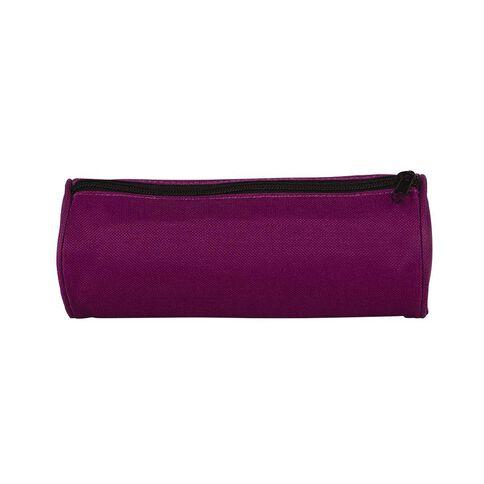 WS Pencil Case Tube Plain Purple