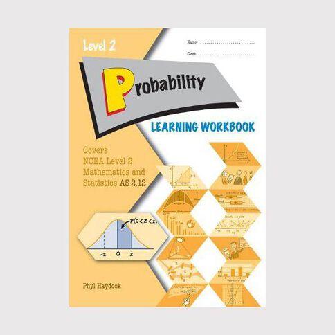 Ncea Year 12 Probability 2.12 Learning Workbook
