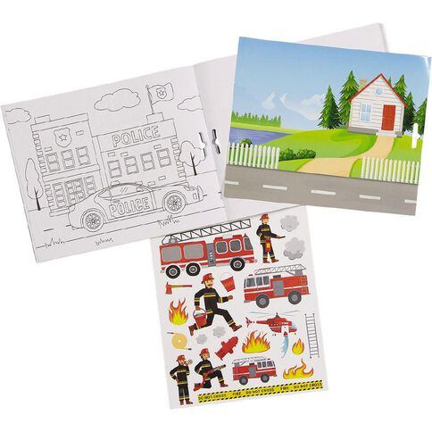 Kookie Sticker Activity Pad To the Rescue