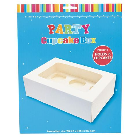 Artwrap Cupcake Box 25.4cm x 16.5cm x 7.8cm