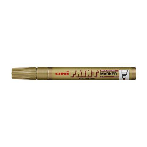 Uni Paint Marker Bullet 2.8mm Gold