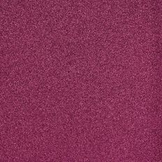American Crafts Cardstock Glitter Medium 12 x 12 Raspberry Red