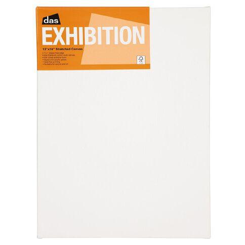 DAS 1.5 Exhibition Canvas 12 x 16in White