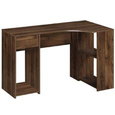 Workspace Soho L-Desk Walnut
