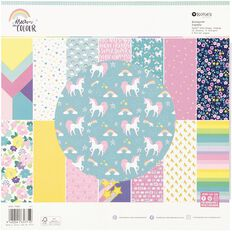 Rosie's Studio Dream In Colour 12in x 12in Paper Pad 42 Sheets