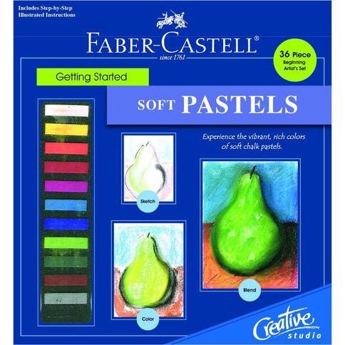 Faber-Castell Getting Started Set Soft Pastels Multi-Coloured