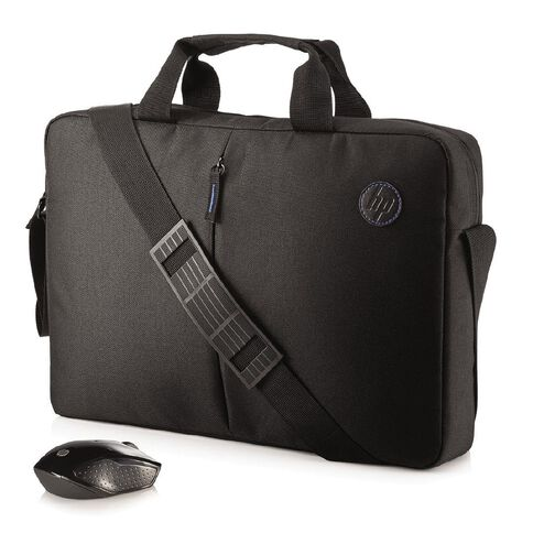 HP Value Briefcase and Wireless Mouse