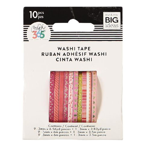 Me & My Big Ideas Washi Tape Mini Pink